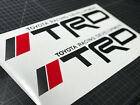 2 TRD Tacoma Tundra Sport Off Road Truck Toyota Decals Stickers Graphic Vinyl HQ