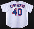 Willson Contreras Signed Cubs Majestic Jersey (JSA COA) Chicago All Star Catcher