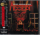 ACCEPT / RESTLESS AND WILD JAPAN CD OOP W/OBI