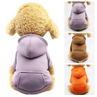 Pet Dog Cat Puppy Sweater Hoodie Coat For Small Pet Dog Warm Costume Apparel US