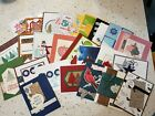 25 Stampin Up Demonstrator Quality Hand Stamped Full Greeting Cards Lot 1