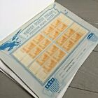 Lot of 7 Handmade Pages w Singles  Plate Blocks  Spec Cancels MINT  USED