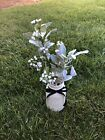 Wedding Decorations Table Centerpiece Rustic Country Style Mason Jar Flowers New