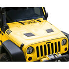 for Jeep Wrangler JK 2007 2018 Heat Dispersion RR Duel vented Steel Hood Metal