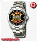 Hot Harley Davidson Ride Hard Round Metal Watches Man's Fashion
