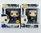 Addams Family Funko POP CHASE Gomez with Sword + Lurch with Thing RARE Set NEW