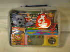 ty BEANIE BABIES OFFICAL CLUB BAG PLATINUM EDITION II CLUBBY II COLLECTOR Vtg