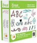 CRICUT CALLIGRAPHY COLLECTION CARTRIDGE NEW 6 ELEGANT FONT PHRASE FLOURISH
