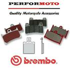 Brembo Carbon Ceramic Rear Brake Pads Fits Aprilia AF1 125 Replica Sintesi 88-89