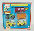 Thomas & Friends Wooden Railway Train Tank Engine NEW Roadway Vehicles Gift Pack