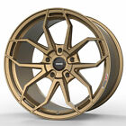 19 MOMO RF 5C Gold 19x85 19x10 Concave Wheels Rims Fits BMW 325i 328i 335i