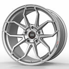 19 MOMO RF 5C Silver 19x95 19x10 Forged Concave Wheels Rims Fits Nissan 350Z