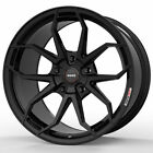 19 MOMO RF 5C Gloss Black 19x9 19x10 Wheels Rims Fits Lexus GS300 GS400 GS430