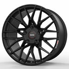 19 MOMO RF 20 Black 19x85 19x10 Wheels Rims Fits Lexus IS200 IS250 IS350
