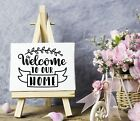 Welcome tour Home Vinyl Sticker DecalWall DecorFront PorchDoorsCars