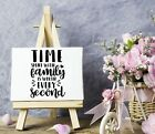 Time spent with family Vinyl Sticker DecalWall DecorFront PorchDoorsCars