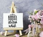 Family forever Vinyl Sticker DecalWall DecorFront PorchDoorsCars