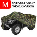 Camouflage Waterproof M 190T Quad Bike ATV Cover Scooter Universal Fits 4 Wheel