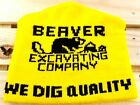 Beaver Excavating Company We Dig Quality Warm Winter Beanie GC Free Shipping!!!