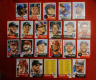 TOPPS LIVING SET 22 Card LOT Trout Harper Sandoval Clemente Checklists RC etc