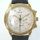 Authentic Piaget 15978 561416 Gvenor Chronograph 18K Total Weight 73g Watche...