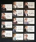 Upstairs, Downstairs: 2014 Cryptozoic Downton Abbey Seasons 1 and 2 Autographs Guide 25