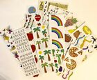 HUGE LOT of Scrapbooking Stickers Mrs Grossman Bundle Sheets Strips Vintage New