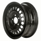 Remanufactured 15X6 Steel Wheel 20 Hole Black Full Face Painted 560 8002