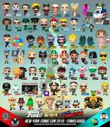 *OFFICIAL* FUNKO POP 2019 NYCC STICKER EXCLUSIVES *IN HAND, SHIP IMMEDIATELY!!!
