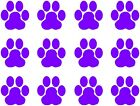 Set of 12 Paw Print Stickers for Cars Walls Laptops Phones Vinyl Decals Cat Dog