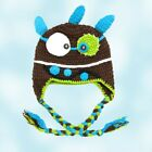100% Hand Made Crochet Hats (Silly Monster Crochet Hat) Large: 1-3 yrs old