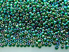 250g 179 Transparent Emerald Rainbow Toho Seed Beads 8 0 3mm WHOLESALE