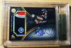 Ichiro Suzuki 2016 Topps The Mint 4 Color Game-Used Patch Auto 04 75 BGS 9.5 10