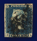 1840 SG5 2d Steel Blue Plate 1 3 Margins D15 BA Good Used Cat 1900 cpjf