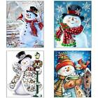 5D DIY Christmas Snowman Diamond Painting Cross Stitch Kit Embroidery Home Decor