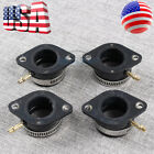 4pcs Carburetor Intake Manifold Boots for Kawasaki 1000 LTD Z1 KZ900 KZ1000 Carb