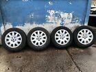 Rover 75 Set Of 15 Inch Alloy Wheels Tyres 5 Stud