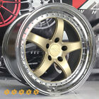 XXR 565 Wheels Gold 18 38 Staggered Step Lip Rims 5x1143 93 98 Toyota Supra TT