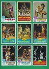 1973-74 Topps Basketball lot of 111 diff cards Archibald Riley Chamberlain PO