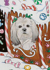 Lhasa Apso Christmas Cards Set of 10 cards  10 envelopes