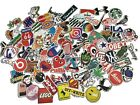 100PCS Stickers Bomb Vinyl Skateboard Guitar Luggage Pack Tide Brand Logo Decals