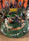 Lemax Spooky Town Halloween Village Accessory ~ Pet Costume Contest ~ ANIMATED