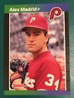 1989 Donruss Alex Madrid RARE & MINT CONDITION JUST OUT OF BOX, WITH CARD SLEEVE
