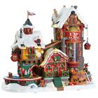 Lemax Christmas Village 2017 ELF MADE TOY FACTORY #75190 NRFB Sights