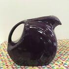 Fiestaware Mulberry Large Disc Pitcher Fiesta Purple 67 oz Water Pitcher