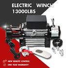 X BULL Electric Winch 13000LBS 12V Steel Cable Off road Jeep Tow Truck Trailer