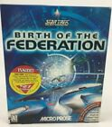 Star Trek The Next Generation Birth of the Federation PC Game Sealed Rare