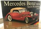 Pocher 1935 Mercedes-Benz 500K Sport Roadster, 1/8 scale model kit