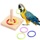 Ring Bite Toys Pet Supplies Bird Chew Toy Intelligence Training Parrot Wooden