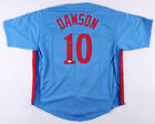 Andre Dawson Signed Montreal Expos Jersey (JSA COA) 1977 NL Rookie of the year